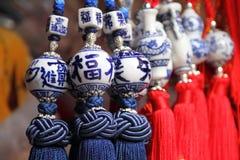 kinesen tillverkar gåvor Royaltyfri Foto