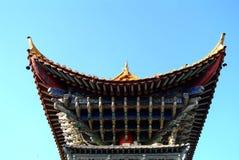 Kinesen utformar byggnad Royaltyfria Foton