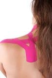 Kinesio Bandtherapie Lizenzfreies Stockbild