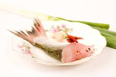 kinesisk ångad fiskmat Fotografering för Bildbyråer