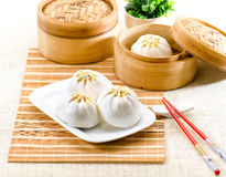 kinesisk ångad stil för klimp mat Royaltyfri Bild