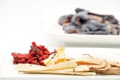 Kinesisk ört och krydda med svarthöna Royaltyfri Foto