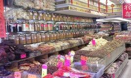 Kinesisk örtkännare Shop Arkivfoton