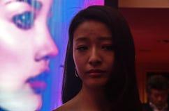 Kinesisk aktris Lan Yueting Royaltyfri Bild