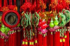 kinesisk amulett för kinesiskt nytt år Arkivfoton