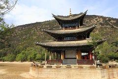Kinesisk arkitektur Fotografering för Bildbyråer
