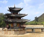Kinesisk arkitektur Royaltyfri Bild