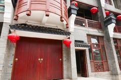 Kinesisk arkitektur Arkivbild