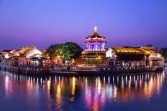 Kinesisk arkitektur Arkivfoton