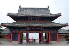 Kinesisk arkitektur Arkivfoto