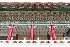 Kinesisk arkitektur av Taiwan den nationella teatern Royaltyfri Bild