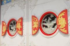 Kinesisk arkitekturstil Royaltyfri Bild