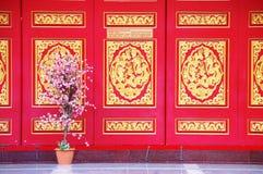 Kinesisk arkitekturstil Fotografering för Bildbyråer