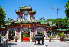 Kinesisk aula arkivfoto