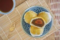Kinesisk bakelse, kinesiska sötsaker arkivfoto