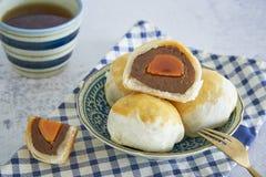Kinesisk bakelse, kinesiska sötsaker royaltyfri bild