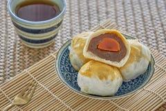 Kinesisk bakelse, kinesiska sötsaker royaltyfri fotografi