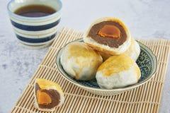 Kinesisk bakelse, kinesiska sötsaker royaltyfria bilder