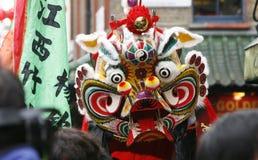 Kinesisk beröm för nytt år, 2012 Royaltyfri Fotografi