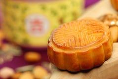 kinesisk berömd matmoon för cake Arkivfoto