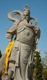 kinesisk berömd guan krigareyu Arkivbild