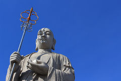 Kinesisk buddistisk präst Arkivbild