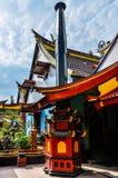 Kinesisk buddistisk tempel i Malang, Indonesien Fotografering för Bildbyråer