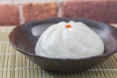 Kinesisk bulle för dim sumBBQ-griskött Arkivfoton