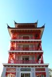Kinesisk byggnad Royaltyfri Bild