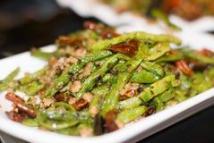 kinesisk chuan maträtt fotografering för bildbyråer