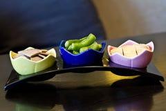 kinesisk combo cusine för aptitretare Arkivbild