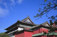 Kinesisk curturebyggnad Royaltyfri Fotografi