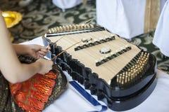 Kinesisk cymbal Arkivfoton