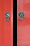 kinesisk dörröppning Royaltyfri Fotografi