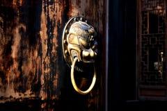 kinesisk dörr Arkivbild
