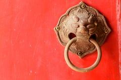kinesisk dörr Arkivfoto