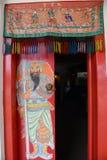 kinesisk dörr Royaltyfria Bilder