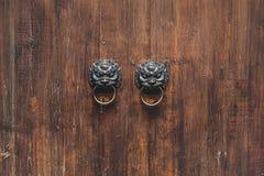 kinesisk dörr Royaltyfri Fotografi