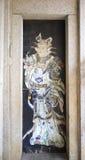 Kinesisk dörr-gud Arkivbilder