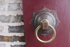 kinesisk dörrhandtag Royaltyfria Foton