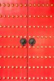 Kinesisk dörrknackare Arkivbilder
