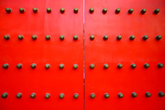 kinesisk dörrred Arkivfoton