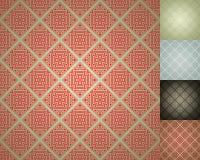 kinesisk damastast seamless wallpaper för bakgrund Arkivfoton