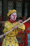kinesisk dansare Fotografering för Bildbyråer