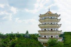 Kinesisk dormarkitektur Arkivfoton