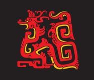 Kinesisk drake Arkivbilder