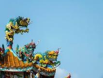 Kinesisk drake 12 Arkivbild