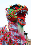 Kinesisk drakemaskering Arkivbild