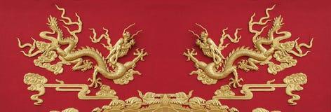Kinesisk drakemodell Royaltyfri Foto