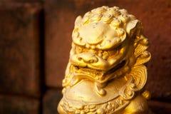 kinesisk drakeskulptur Fotografering för Bildbyråer